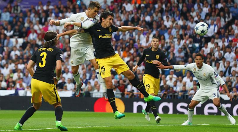 Watch Cristiano Ronaldo scores hat trick for Real Madrid against Atletico in UCL semis