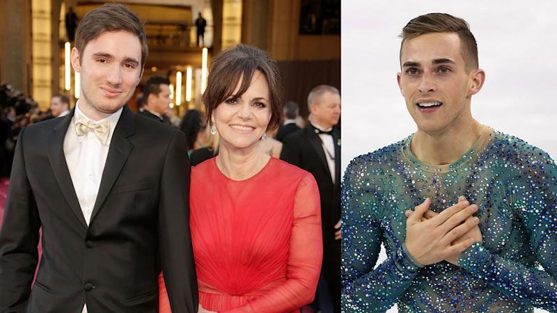 Adam Rippon and Sally Field's Son Finally Meet After She Set Them Up: Pics