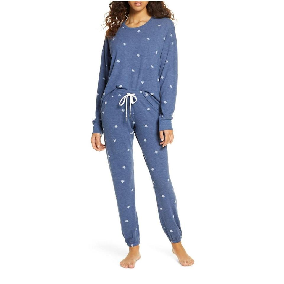 """<p>It's important that Aquarius get plenty of sleep and alone time. Give them something cute and comfy to recharge in with these super soft jersey pajamas. While we think the revolutionaries of the zodiac will appreciate the star print, they also come in 10 other colors and patterns. </p> <p><strong>$98</strong> (<a href=""""https://shop.nordstrom.com/s/pj-salvage-just-peachy-pajamas/5405138/full?origin=category-personalizedsort&breadcrumb=Home%2FHoliday%20Gifts%2FGifts%20for%20Her&color=blush"""" rel=""""nofollow noopener"""" target=""""_blank"""" data-ylk=""""slk:Shop Now"""" class=""""link rapid-noclick-resp"""">Shop Now</a>)</p>"""