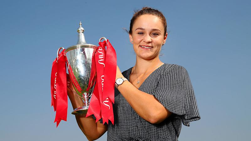 Ash Barty's coach has praised her character after a record-breaking year.