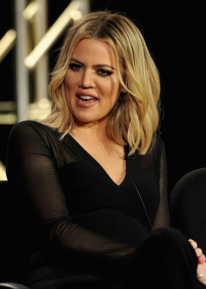 Khloé Kardashian has a vagina beauty routine. (Photo by Jerod Harris/Getty Images for A+E Networks)