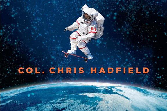 "Chris Hadfield's ""An Astronaut's Guide to Life on Earth,"" as was released on Oct. 29, 2013."