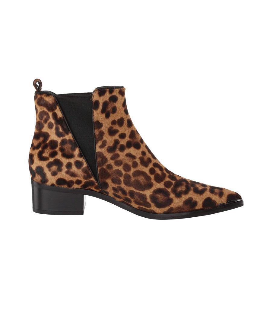 """<p>Take a walk on the wild side in these fantastic leopard booties!<br><a href=""""https://fave.co/2zw2n5x"""" rel=""""nofollow noopener"""" target=""""_blank"""" data-ylk=""""slk:Shop it:"""" class=""""link rapid-noclick-resp"""">Shop it:</a> Marc Fisher LTD Yalely, $199, <a href=""""https://fave.co/2zw2n5x"""" rel=""""nofollow noopener"""" target=""""_blank"""" data-ylk=""""slk:zappos.com"""" class=""""link rapid-noclick-resp"""">zappos.com</a> </p>"""