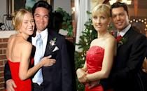 <p><b>Aired:</b> February 13, 2004 on USA Network<br><b>Stars:</b> Dean Cain and David Denman<br><br><b>'Amber Frey: Witness for the Prosecution'</b> <br><b>Stars:</b> Janel Maloney and Nora Dunn<br><br><b>Ripped from the headlines about:</b> Scott Peterson, the California man convicted of killing his wife Laci and their unborn son Conner in 2002. <i>The Office</i> alum Denman plays Peterson's BFF, who tries to believe in his pal's innocence, until he learns Peterson had been having an affair and other evidence continues to mount towards his guilt. His affair, with single mom Amber Frey, aids in Peterson's downfall, as Frey helps police collect evidence against Peterson by recording phone calls in which he lies about his whereabouts during the days after his wife went missing.<br><br><i>(Credit: Everett Collection; Alamy)</i> </p>