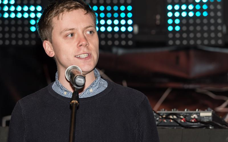 Owen Jones, speaking earlier this year at an anti-Donald Trump rally - Credit: Wiktor Szymanowicz /Barcroft