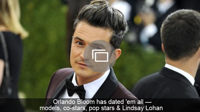 Orlando Bloom has dated 'em all — models, co-stars, pop stars & Lindsay Lohan