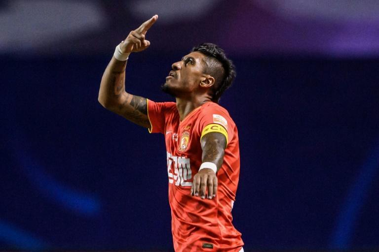 Guangzhou Evergrande's Paulinho is out with a thigh injury