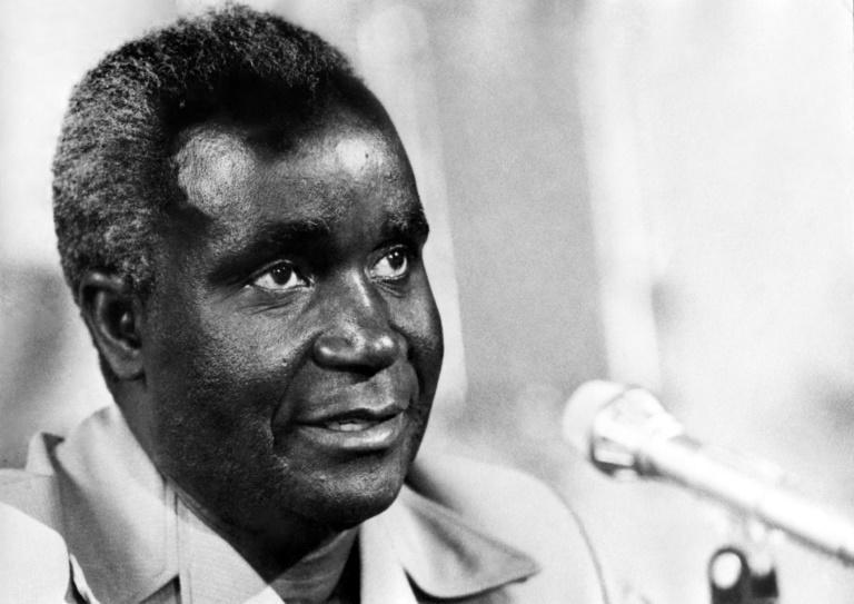 Zambia's first president Kenneth Kaunda, pictured here in 1975, died this year at the age of 97