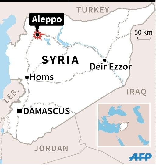 Fighting surging around Syria's second city of Aleppo (AFP Photo/Vincent LEFAI, Kun TIAN)