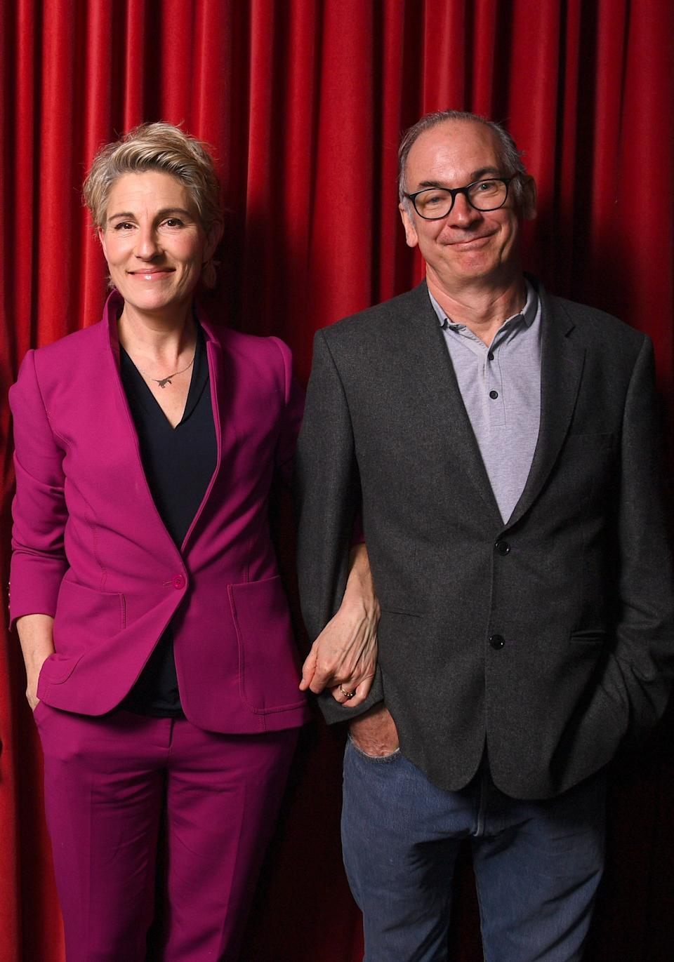 Tamsin Greig and Paul Ritter (Photo: Dave J Hogan via Getty Images)