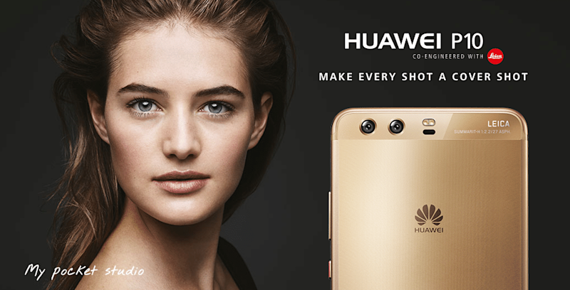 Huawei P10 Launch Focuses On Camera Improvements And Color Options