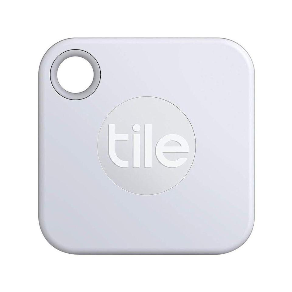 """<p><strong>Tile</strong></p><p>amazon.com</p><p><strong>$24.99</strong></p><p><a href=""""https://www.amazon.com/dp/B07W9BBCTB?tag=syn-yahoo-20&ascsubtag=%5Bartid%7C2141.g.23308279%5Bsrc%7Cyahoo-us"""" rel=""""nofollow noopener"""" target=""""_blank"""" data-ylk=""""slk:Shop Now"""" class=""""link rapid-noclick-resp"""">Shop Now</a></p><p>This handy little tracker will help Mom find her keys in a hurry. Just hook the Tile tracker on anything that's important—from her wallet to the family cat—and pair it with the app on her smartphone. That way, when something goes missing, she can use the app to send a signal to the Tile, which will make a sound. Lost the phone? Double click the Tile to make your phone ring!</p>"""