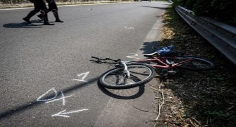 Incidente Bergamo auto ciclista