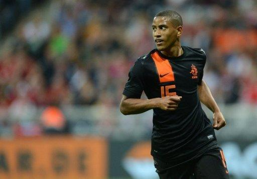 Netherland's Luciano Narsingh during the football friendly against Bayern Munich on May 22. The Netherlands -- in Group B at Euro 2012 along with Germany -- host Bulgaria in Amsterdam on Saturday