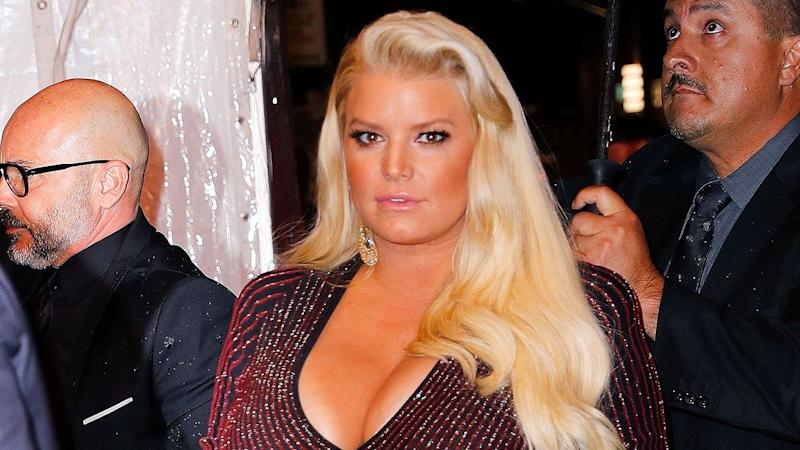 Jessica Simpson Spotted on Date Night With Husband 1 Month After Giving Birth -- See the Pic!