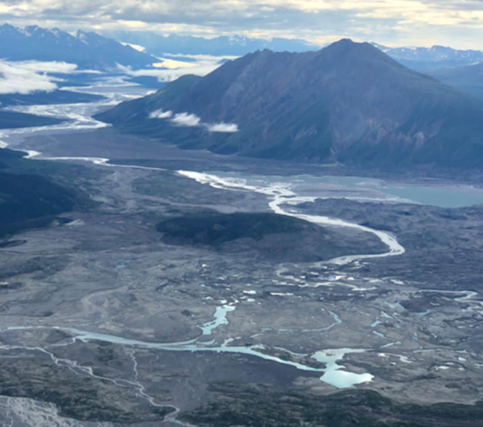 River piracy, dust storms occurring in the Yukon as the climate warms