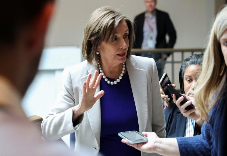 Pelosi: U.S. House close to approving trade deal with Mexico, Canada