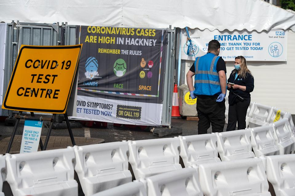 Hackney residents are being encouraged to get tested following a rise in cases of the so called Indian Variant of Covid 19Daniel Hambury/Stella Pictures Ltd