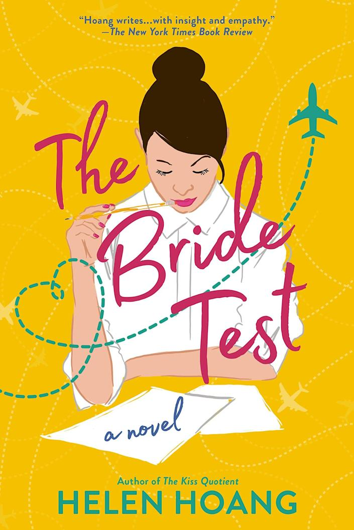 <p><span><strong>The Bride Test</strong> by Helen Hoang</span> ($11) is a follow-up to <strong>The Kiss Quotient</strong> and revolves around Khai Diep, the cousin of Michael Phan. In the story, relationship-averse Khai meets Esme Tran, a woman his mom met in Ho Chi Minh City and is determined to set him up with. As Khai and Esme spend more time together, his understanding of love and relationships transforms.</p> <p>Similar to <strong>The Kiss Quotient</strong>, I loved how Vietnamese cultural references are sprinkled throughout. It was also interesting to read Esme's perspective as a Vietnamese woman who didn't grow up in the US.</p> <p>Hoang's third book in the series focusing on Khai's brother will be released later this year, and I'm excited to read it!</p>