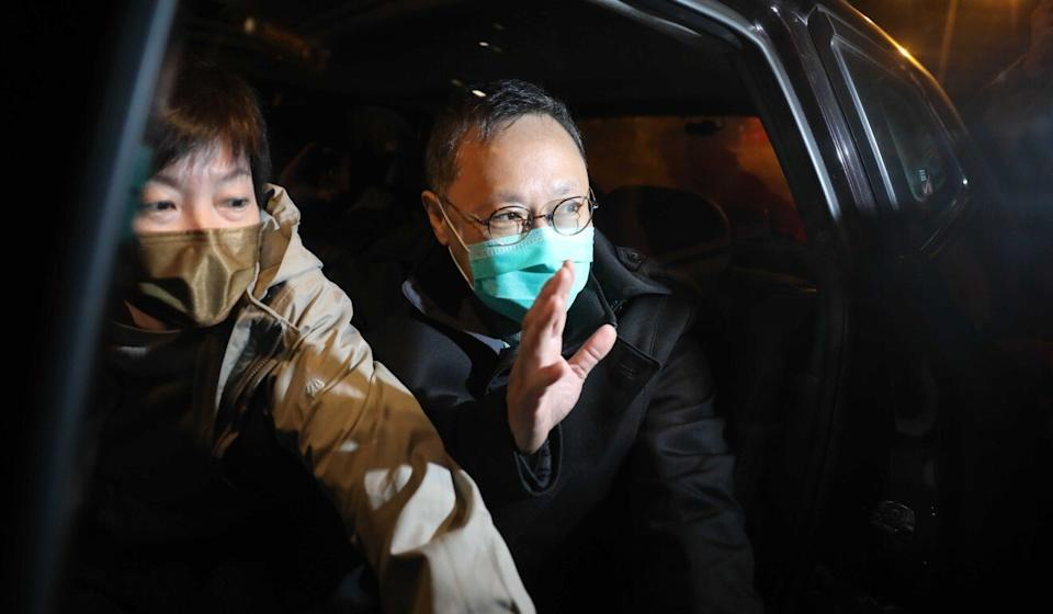 Benny Tai, one of the 55 opposition figures arrested last week over their involvement in an unofficial primary. Photo: K. Y. Cheng