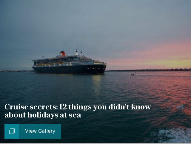 Cruise secrets: 12 things you didn't know about holidays at sea