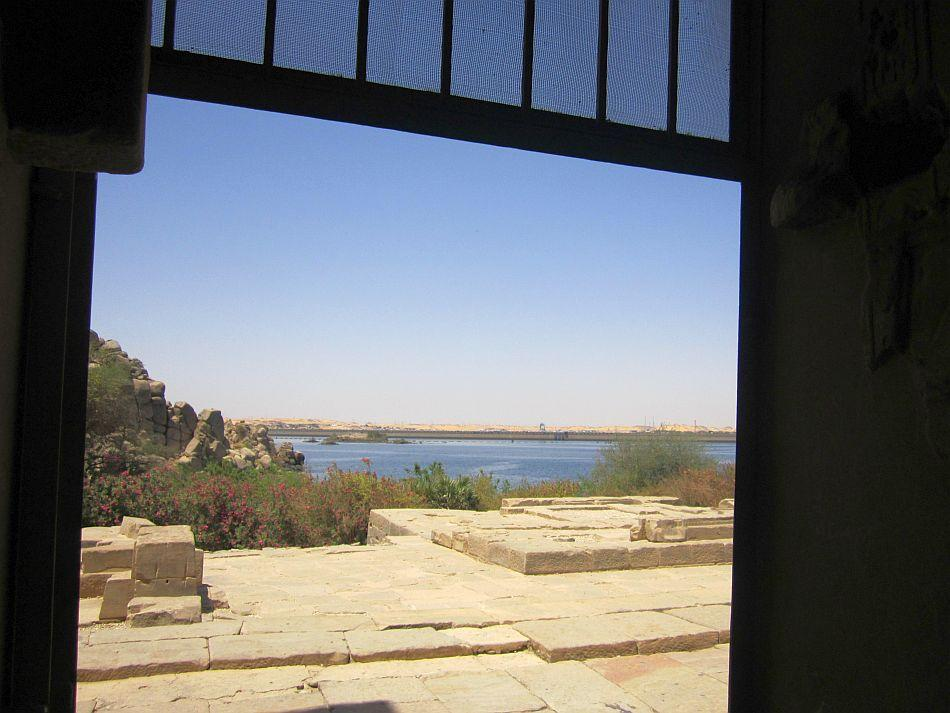 "A view of Lake Nasser from the Phillae Temple<br><br><a target=""_blank"" href=""https://in.lifestyle.yahoo.com/blogs/traveler/egypt-where-time-tide-wait-101213921.html"">Read the related blog post on travels in Egypt</a>"