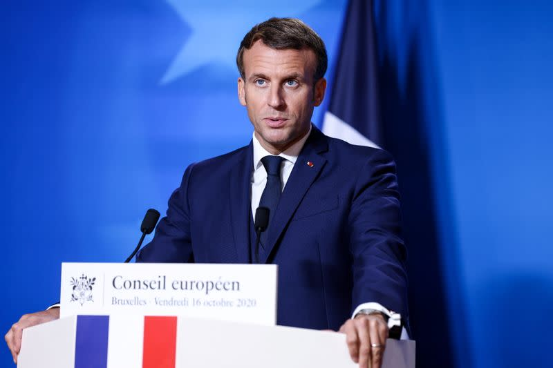 Macron says French fisherman accept situation will change after Brexit