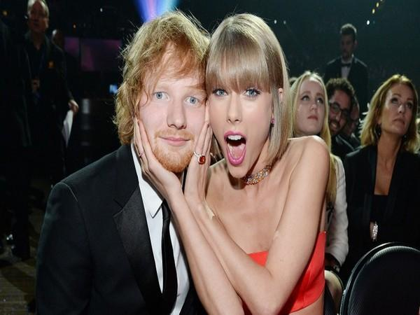 Ed Sheeran and Taylor Swift (Image source: Instagram)