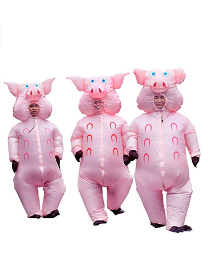 "<p>$31</p><p><a class=""body-btn-link"" href=""https://www.amazon.com/Inflatable-Costume-Adult-Cosplay-Christmas/dp/B07DDDVX3K/ref=sr_1_5?keywords=group+halloween+costume&qid=1568062301&s=gateway&sr=8-5&tag=syn-yahoo-20&ascsubtag=%5Bartid%7C10070.g.3083%5Bsrc%7Cyahoo-us"" target=""_blank"">SHOP NOW</a></p><p>Have a fourth friend that you want to include? They can dress up as the big bad wolf!</p>"