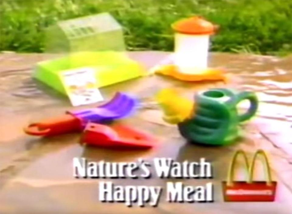 mcdonalds natures watch happy meal toys