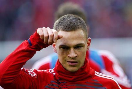 Soccer Football - Bundesliga - Bayern Munich vs Werder Bremen - Allianz Arena, Munich, Germany - January 21, 2018. Bayern Munich's Joshua Kimmich before the match. REUTERS/Michaela Rehle