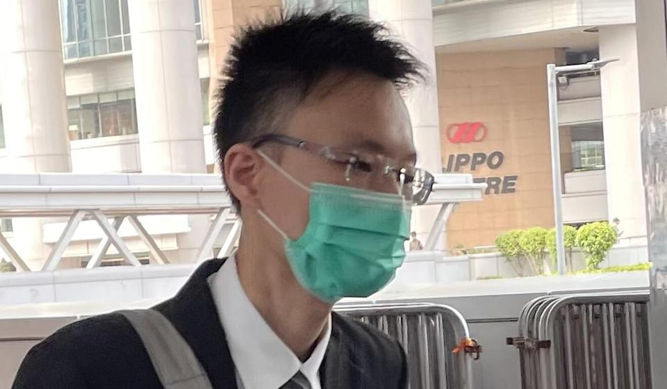 Senior forensic pathologist Foo Ka-chung leaves the High Court on Thursday. Photo: SCMP