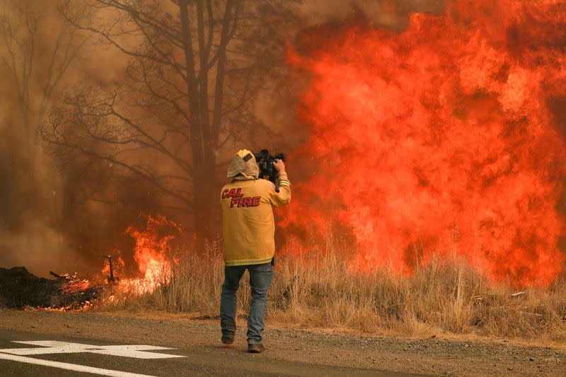 Firefighters, military planes, troops arrive in California to fight massive blazes