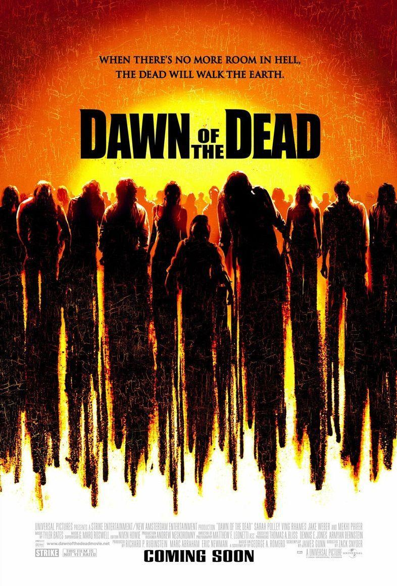 """<p>This 2004 remake of George Romero's second film in the <em>Night of the Living Dead</em> series pays homage to the 1978 original, but also puts it own terrifying spin on the classic story of a group of human survivors who take refuge from flesh-eating zombies in a Midwestern shopping mall. </p><p><a class=""""link rapid-noclick-resp"""" href=""""https://www.amazon.com/Dawn-Dead-Sarah-Polley/dp/B001OBLNKK?tag=syn-yahoo-20&ascsubtag=%5Bartid%7C10055.g.33546030%5Bsrc%7Cyahoo-us"""" rel=""""nofollow noopener"""" target=""""_blank"""" data-ylk=""""slk:WATCH ON AMAZON"""">WATCH ON AMAZON</a></p>"""