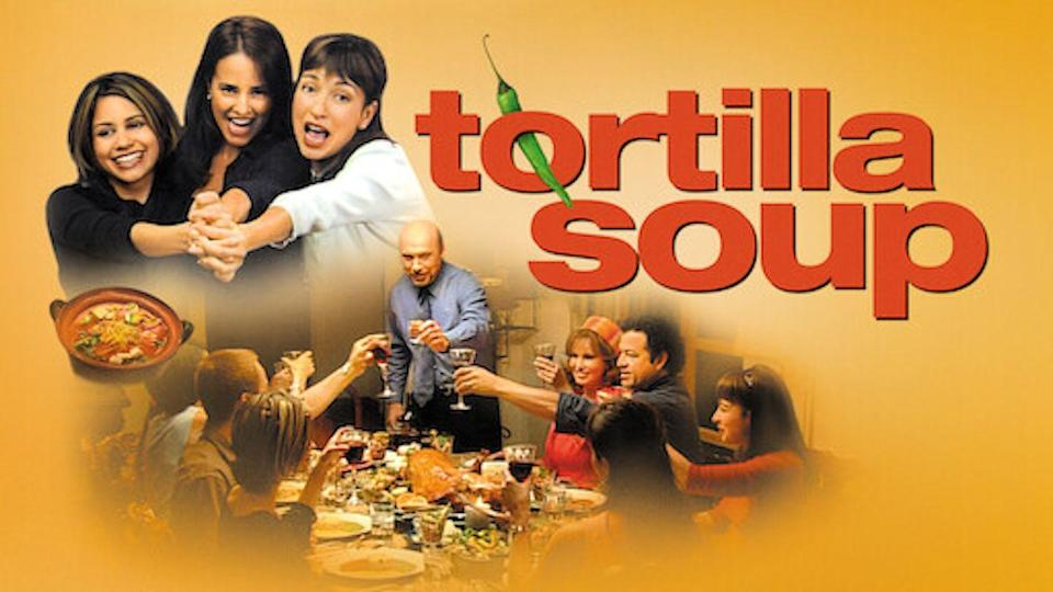 """<p>This family-focused film is about three Mexican-American sisters who gather for dinner each week to enjoy their chef father's cooking (even though he has lost his sense of taste and smell since his wife has died). The movie follows the sisters various loves and heartbreaks and how they affect the family.</p><p><a class=""""link rapid-noclick-resp"""" href=""""https://www.netflix.com/watch/60020787?trackId=253845172&tctx=9%2C2%2C72120aa6-5553-4e6a-a0e4-39fd32bf4793-13315773%2Ca8ed29ec-b206-4148-ba3b-7cbf385ff09e_12148815X28X5763X1607718788637%2Ca8ed29ec-b206-4148-ba3b-7cbf385ff09e_ROOT%2C"""" rel=""""nofollow noopener"""" target=""""_blank"""" data-ylk=""""slk:STREAM NOW"""">STREAM NOW</a></p>"""