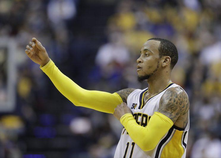 Pacers waive guard Monta Ellis