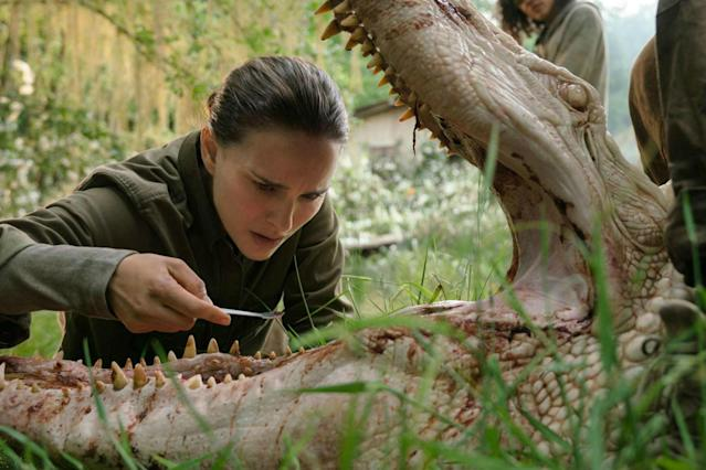 Portman in <em>Annihilation</em>. (Photo: Paramount/Skydance)