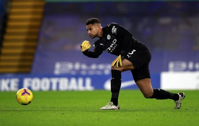 Zack Steffen is set to continue in goal for City