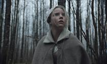 """<p>""""Puritans, satanic rituals, an absolutely cursed goat…need I go on?"""" Hirsch says about this period piece starring Anya Taylor-Joy. """"<em>The Witch</em>'s spook factor is off the charts."""" </p> <p><a href=""""https://www.amazon.com/Witch-Anya-Taylor-Joy/dp/B01BT3SCUG"""" rel=""""nofollow noopener"""" target=""""_blank"""" data-ylk=""""slk:Available to stream on Showtime"""" class=""""link rapid-noclick-resp""""><em>Available to stream on Showtime</em></a></p>"""