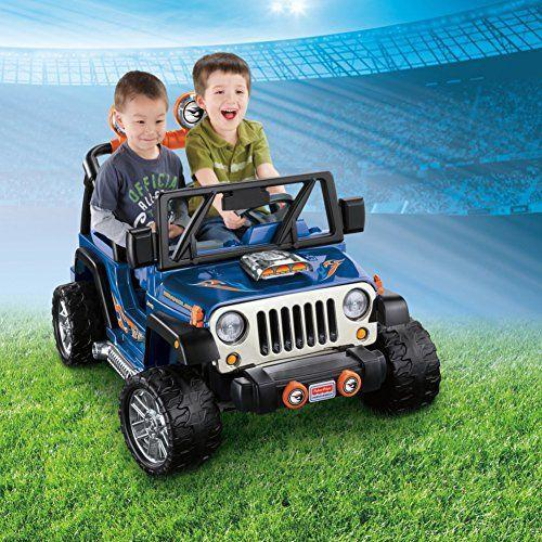 "<p><strong>Power Wheels</strong></p><p>amazon.com</p><p><strong>$650.00</strong></p><p><a href=""https://www.amazon.com/dp/B00IVDVX86?tag=syn-yahoo-20&ascsubtag=%5Bartid%7C10055.g.34425717%5Bsrc%7Cyahoo-us"" rel=""nofollow noopener"" target=""_blank"" data-ylk=""slk:Shop Now"" class=""link rapid-noclick-resp"">Shop Now</a></p><p>Kids can cruise up to 5 mph (2.5 mph in reverse), and parents can rest assured that the vehicle will automatically stop when the driver's foot comes off the pedal. Younger kids can start with the 2.5 mph option prior to parents removing the lock0-out for higher speed. Lots of <strong>realistic details make it feel like a more mature ""toy"" as kids gain confidence and motor skills. </strong></p><p><strong>Ages:</strong> 3-7 years old<strong><br>Max Weight:</strong> 130 pounds</p>"