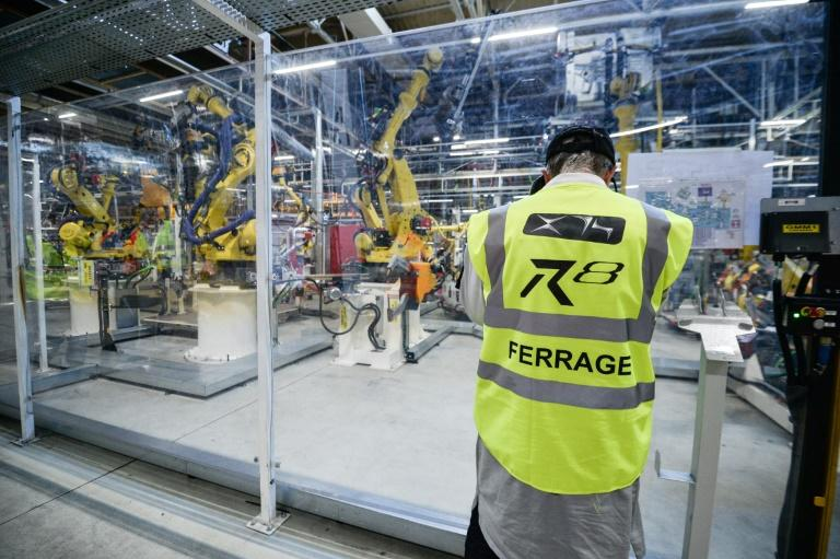 The French Fab Tour hopes to convince young workers that state-of-the-art sites offering solid pay and prospects have replaced the dreary assembly lines of the past (AFP Photo/Sébastien BOZON)