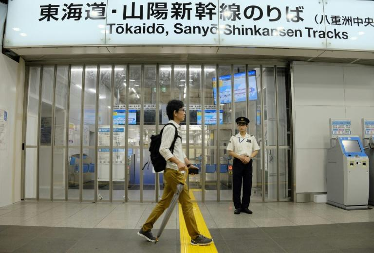 Typhoon Hagibis has forced the cancellation of flights, bullet trains and local lines in Tokyo and beyond