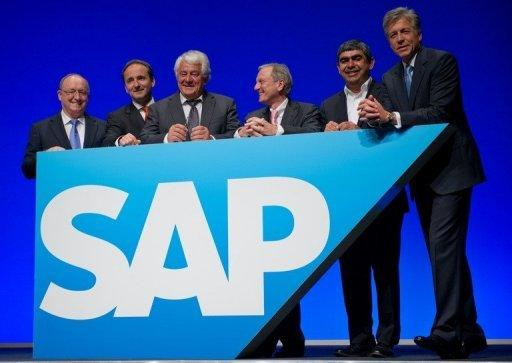 German software giant SAP announces profits up 18%