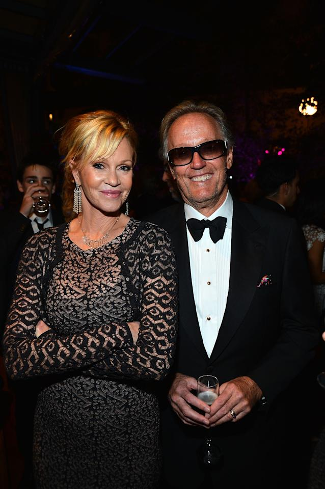 CULVER CITY, CA - JUNE 07:  Actors Melanie Griffith and Peter Fonda attend the after party for the 40th AFI Life Achievement Award honoring Shirley MacLaine held at Sony Pictures Studios on June 7, 2012 in Culver City, California. The AFI Life Achievement Award tribute to Shirley MacLaine will premiere on TV Land on Saturday, June 24 at 9PM ET/PST.  (Photo by Frazer Harrison/Getty Images for AFI)