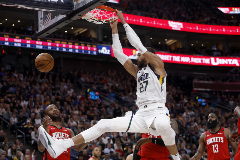 Coronavirus behind him, Utah's Rudy Gobert looking forward
