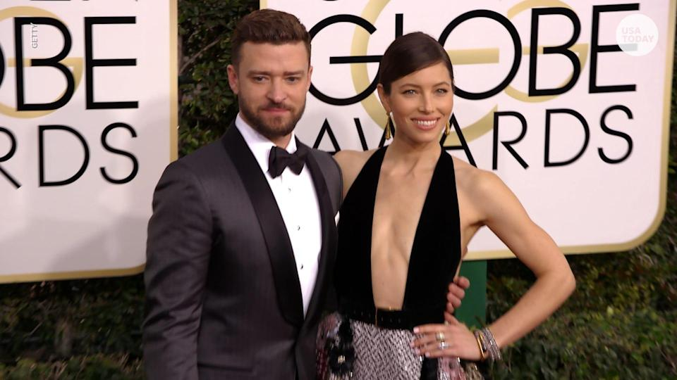"""Timberlake confirmed that he and Biel welcomed their second child together,Phineas,during his January appearance on """"The Ellen DeGeneres Show."""""""