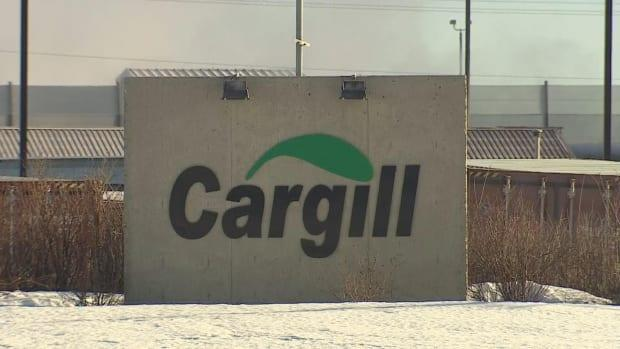 Nearly half of the Cargill meat plant in High River's 2,200 workers tested positive last year for the novel coronavirus. (Justin Pennell/CBC - image credit)