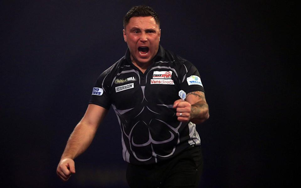 Gerwyn Price — Meet Gerwyn Price — the former rugby player and bouncer who became the world's best darts player - PA