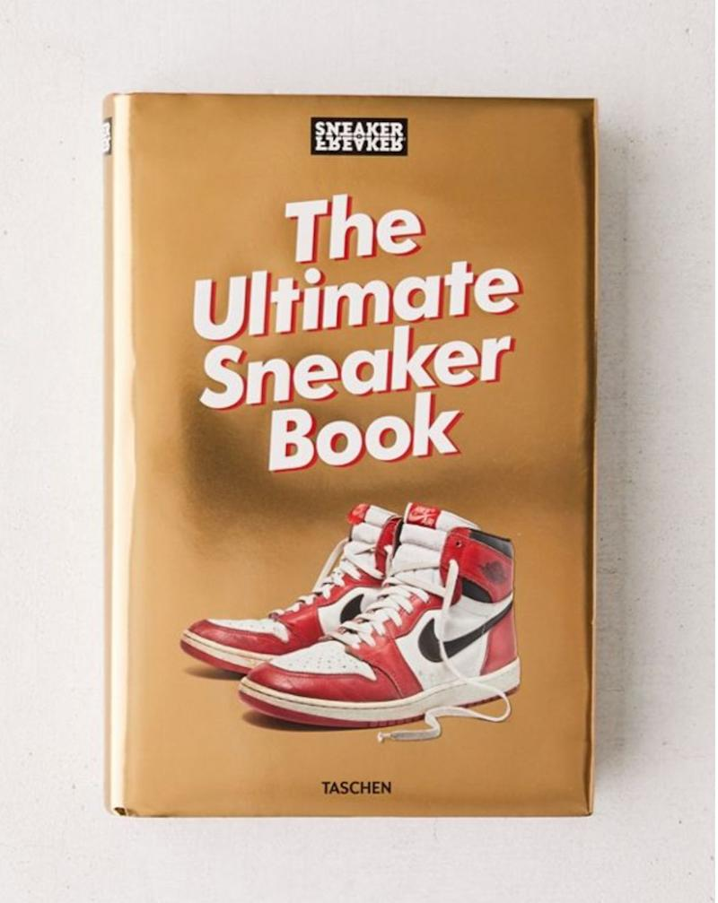"Because many of us have a sneakerhead in our life. Get it <a href=""https://www.urbanoutfitters.com/en-ca/shop/sneaker-freaker-the-ultimate-sneaker-book-by-simon-wood"" target=""_blank"" rel=""noopener noreferrer"">at Urban Outfitters</a> for $70."