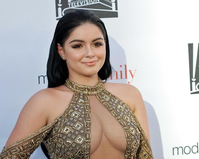 Ariel Winter called out a commenter who criticized her revealing bikini photo. (Photo: Tibrina Hobson/Getty Images)